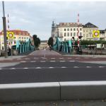 Barrière op het stationsplein